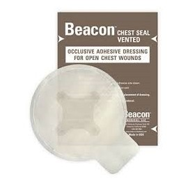 Pansement à Valve Beacon Chest Seal 6