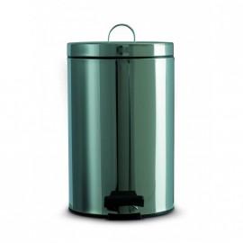Inox vuilnisbak - 12L