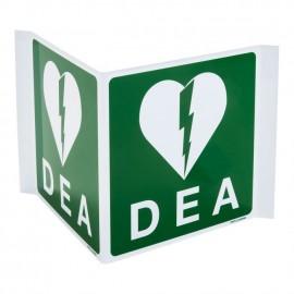 Signalique AED - panneau panoramique